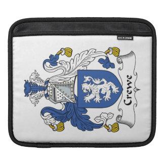 Escudo de la familia de Crewe Mangas De iPad