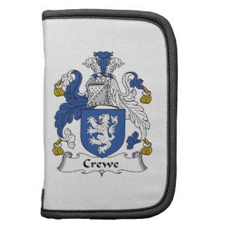 Escudo de la familia de Crewe Planificadores