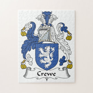 Escudo de la familia de Crewe Rompecabeza