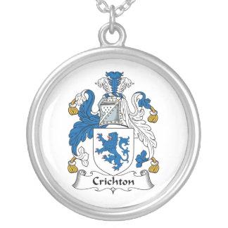 Escudo de la familia de Crichton Collar Personalizado