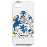 Escudo de la familia de Crichton iPhone 5 Case-Mate Coberturas