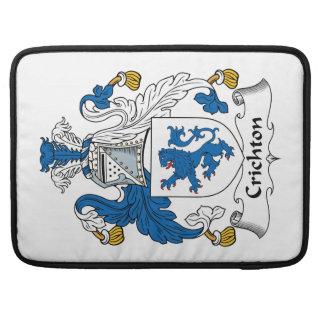 Escudo de la familia de Crichton Funda Para Macbook Pro