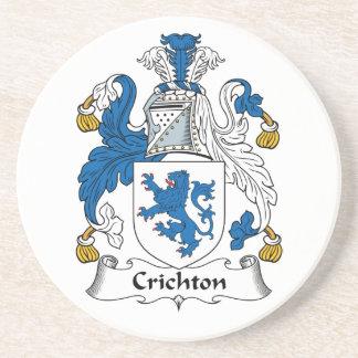 Escudo de la familia de Crichton Posavasos Para Bebidas