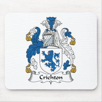 Escudo de la familia de Crichton Alfombrillas De Ratones