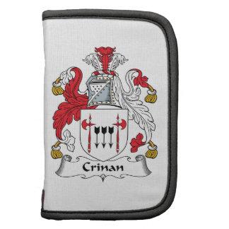 Escudo de la familia de Crinan Planificador