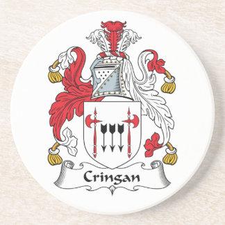 Escudo de la familia de Cringan Posavaso Para Bebida