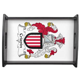 Escudo de la familia de Crispin Bandejas