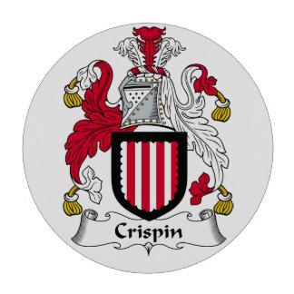 Escudo de la familia de Crispin Juego De Fichas De Póquer