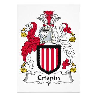 Escudo de la familia de Crispin Anuncios Personalizados