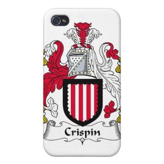 Escudo de la familia de Crispin iPhone 4 Funda