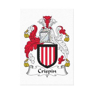 Escudo de la familia de Crispin Impresiones En Lona Estiradas