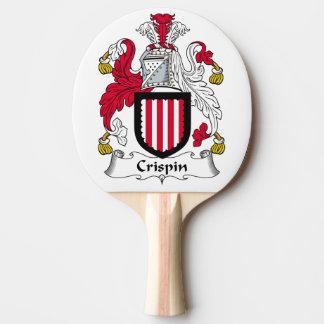Escudo de la familia de Crispin Pala De Tenis De Mesa