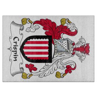 Escudo de la familia de Crispin Tabla De Cortar