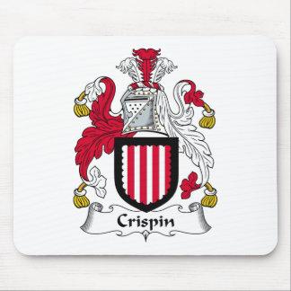 Escudo de la familia de Crispin Alfombrillas De Raton