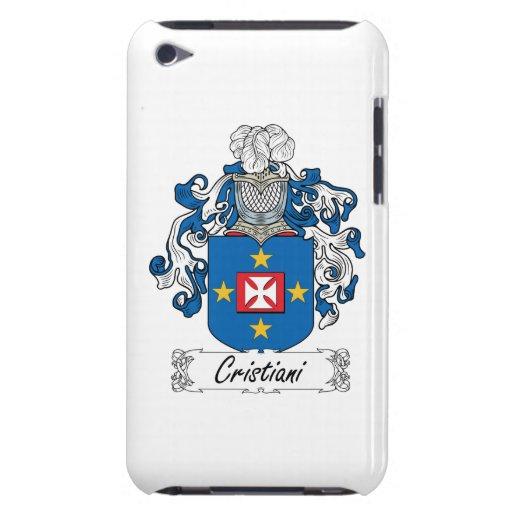 Escudo de la familia de Cristiani iPod Touch Case-Mate Funda