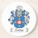 Escudo de la familia de Cristiani Posavasos Manualidades