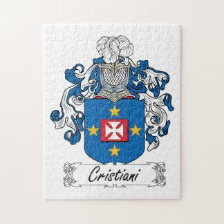 Escudo de la familia de Cristiani Rompecabeza