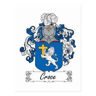 Escudo de la familia de Croce Postales