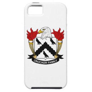 Escudo de la familia de Crocker iPhone 5 Protectores