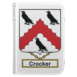 Escudo de la familia de Crocker