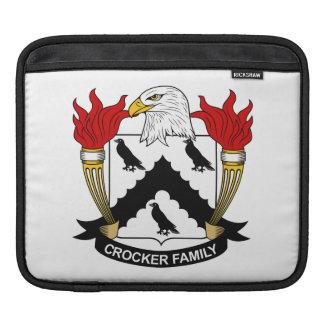 Escudo de la familia de Crocker Manga De iPad