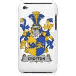 Escudo de la familia de Crofton iPod Touch Case-Mate Carcasa