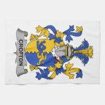 Escudo de la familia de Crofton Toalla De Mano