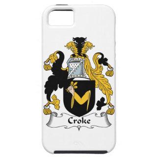 Escudo de la familia de Croke iPhone 5 Protector