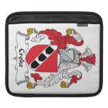 Escudo de la familia de Croke Fundas Para iPads