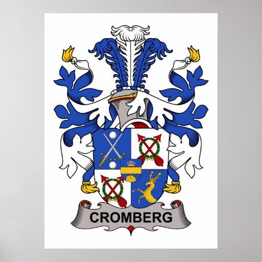 Escudo de la familia de Cromberg Poster
