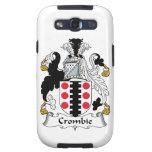 Escudo de la familia de Crombie Galaxy SIII Cárcasa