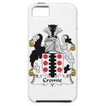 Escudo de la familia de Cromie iPhone 5 Protector