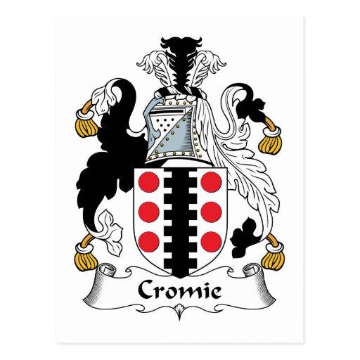Escudo de la familia de Cromie Postal