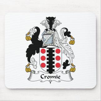 Escudo de la familia de Cromie Alfombrilla De Ratón