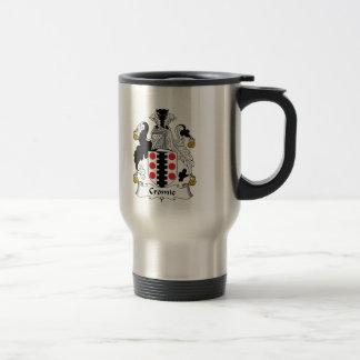 Escudo de la familia de Cromie Taza De Café