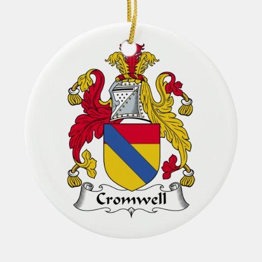 Escudo de la familia de Cromwell Ornamente De Reyes