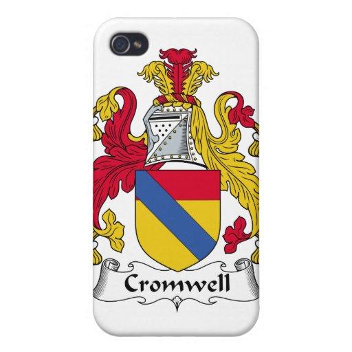 Escudo de la familia de Cromwell iPhone 4 Coberturas