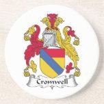 Escudo de la familia de Cromwell Posavasos Manualidades