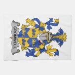 Escudo de la familia de Cromwell Toalla