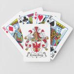 Escudo de la familia de Cronenberg Baraja Cartas De Poker