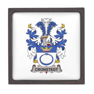 Escudo de la familia de Cronstedt Cajas De Joyas De Calidad