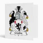 Escudo de la familia de Crosbie