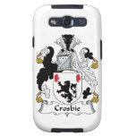 Escudo de la familia de Crosbie Galaxy S3 Protector