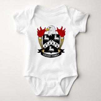 Escudo de la familia de Crosby T Shirt