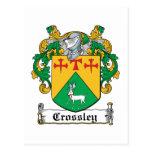 Escudo de la familia de Crossley Postal