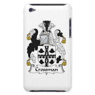 Escudo de la familia de Crossman Barely There iPod Funda