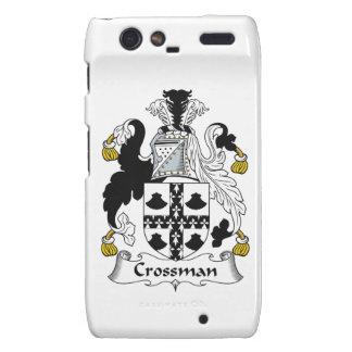 Escudo de la familia de Crossman Motorola Droid RAZR Carcasa