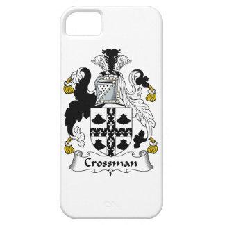 Escudo de la familia de Crossman iPhone 5 Funda