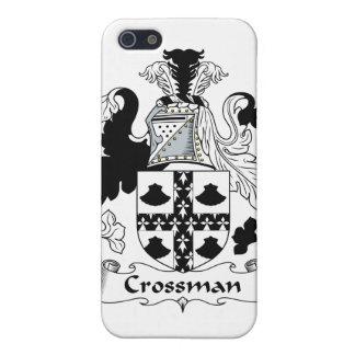Escudo de la familia de Crossman iPhone 5 Fundas