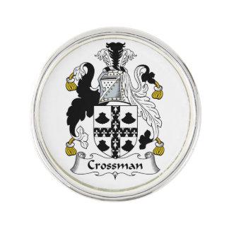 Escudo de la familia de Crossman Pin